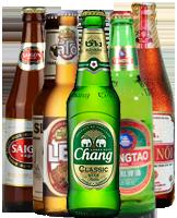 Bier import aus Asien